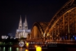 The Cologne Cathedral and the Hohenzollern bridge