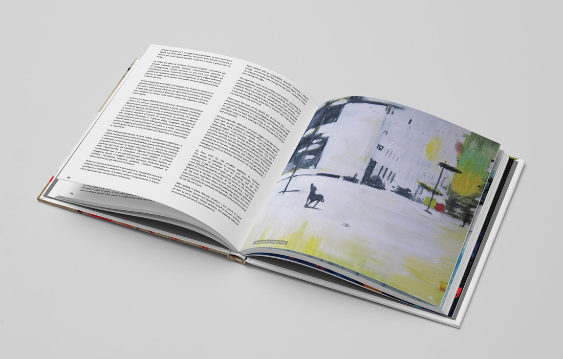 Art book layout