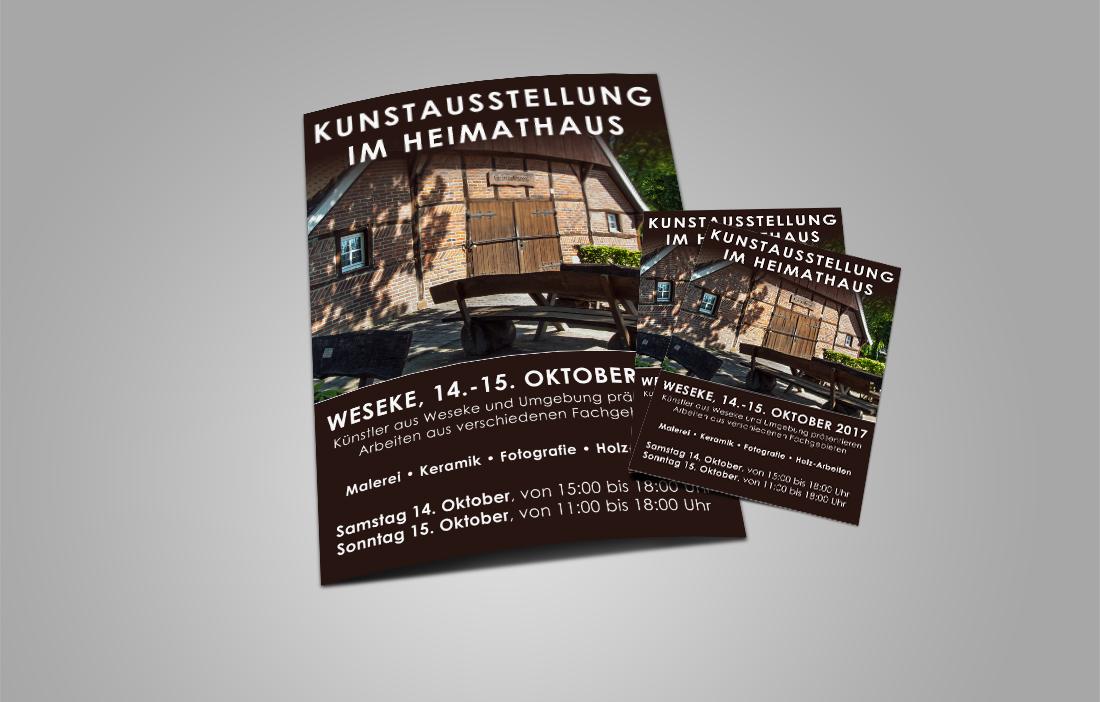 Kunstausstellung Weseke
